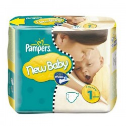 Pack 23 Couches Pampers de la gamme New Baby de taille 1 sur 123 Couches