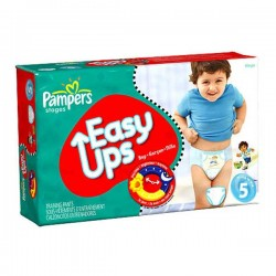 Maxi Pack 176 Couches de Pampers Easy Up de taille 5 sur 123 Couches