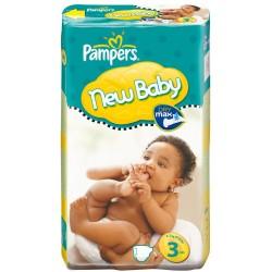 Pack 31 Couches de la marque Pampers New Baby de taille 3 sur 123 Couches