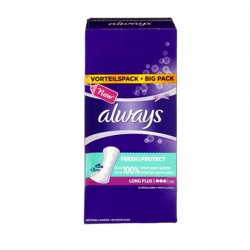 Pack 22 Serviettes hygiéniques Always Pantiliners de taille LargePlus sur 123 Couches