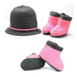 Mon premier ensemble Premier ensemble nouveaux nés de la marque Choupinet Chapeau et Chaussures Chic de taille 0-12Mois sur 123 Couches