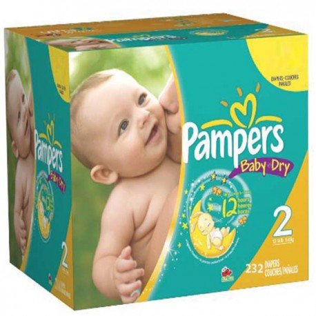 Couches pampers baby dry taille 2 pas cher 232 couches sur 123couches - Couche pampers baby dry taille 3 ...