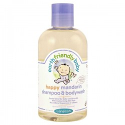 Flacon Gel douche EFB - Earth Friendly Baby Bio Mandarine sur 123 Couches