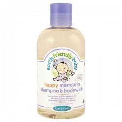 Flacon des Gels douches EFB - Earth Friendly Baby Bio Mandarine sur 123 Couches