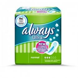 Pack de 18 Serviettes hygiéniques Always Ultra de taille Normal sur 123 Couches