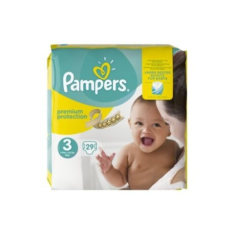 29 couches pampers premium protection taille 3 en solde sur 123 couches - Couches pampers taille 3 ...