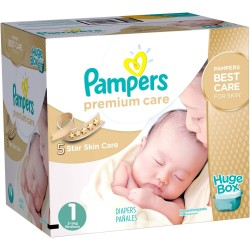 Maxi pack 164 Couches Pampers Premium Care taille 1