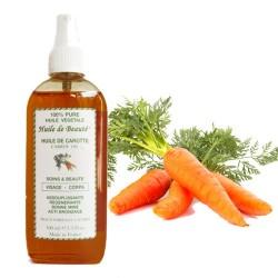 Huile de beauté à la Carotte 100% pure végétales sur 123 Couches