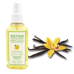 Huile de beauté à la vanille 100% pure et végétale sur 123 Couches