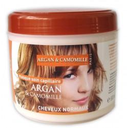 Masque capillaire à l'argan & camomille cheveux normaux sur 123 Couches