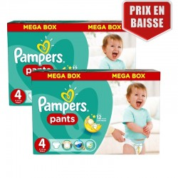 Giga Pack 282 Couches Pampers Baby Dry Pants taille 4