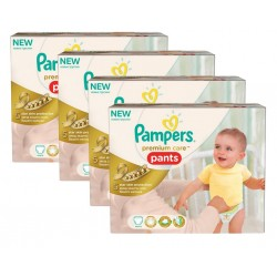 Maxi Giga Pack 224 Couches Pampers Premium Care Pants taille 3
