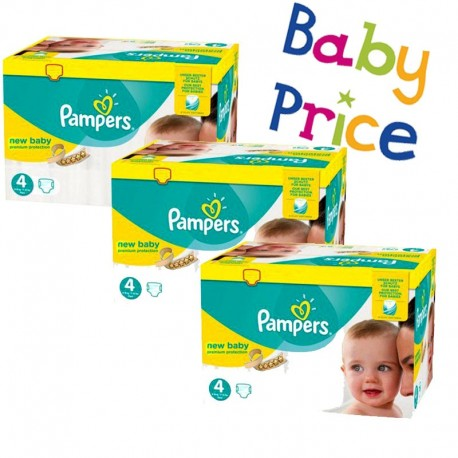 Mega Pack 320 Couches Pampers New Baby - Premium Protection taille 4 sur 123 Couches