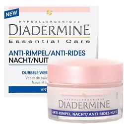 Diadermine Essential Care 50 ml Anti-Rides Nuit sur 123 Couches