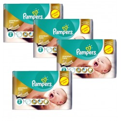 Giga Pack 266 Couches Pampers New Baby - Premium Care taille 2 sur 123 Couches