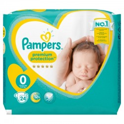 Pack 24 Couches Pampers New Baby taille 0 sur 123 Couches