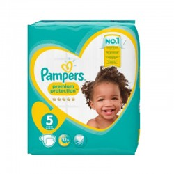 Pack 60 Couches Pampers New Baby taille 5 sur 123 Couches