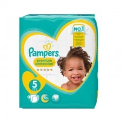 Pack 60 Couches Pampers New Baby taille 5
