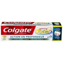 Dentifrice Colgate Total Action en Profondeur sur 123 Couches