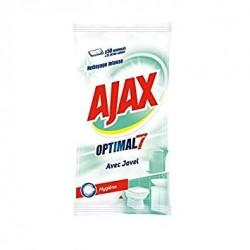 Ajax Lingettes par 50 Optimal 7 avec Javel sur 123 Couches