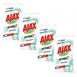 Ajax 200 Lingettes Optimal 7 avec Javel sur 123 Couches