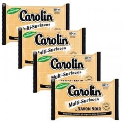 Carolin Serpillières 4X15 au Savon Noir Multi-surfaces sur 123 Couches