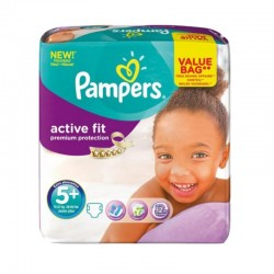 Pack 32 couches Pampers Active Fit Premium Protection