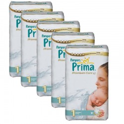Giga Pack 154 couches Pampers Premium Care Prima