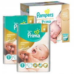Maxi Giga Pack 242 Couches Pampers Premium Care - Prima taille 2 sur 123 Couches