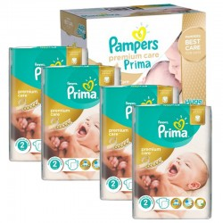 Maxi Pack 440 Couches Pampers Premium Care - Prima taille 2