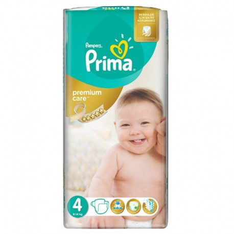 Pack 20 Couches Pampers Premium Care - Prima taille 4 sur 123 Couches