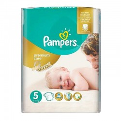 Pack 26 Couches Pampers Premium Care - Prima taille 5