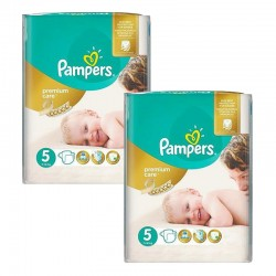 Giga Pack 104 Couches Pampers Premium Care - Prima taille 5