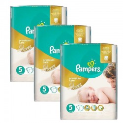 Maxi Giga Pack 208 Couches Pampers Premium Care - Prima taille 5 sur 123 Couches