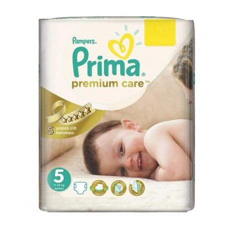 Pack 42 Couches Pampers Premium Care - Prima taille 5 sur 123 Couches