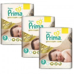 Maxi Giga Pack 378 Couches Pampers Premium Care Prima