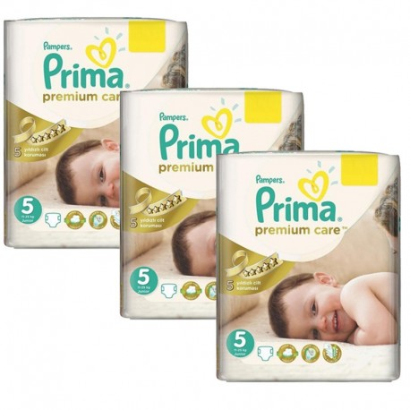 Maxi Pack 378 Couches Pampers Premium Care - Prima taille 5 sur 123 Couches
