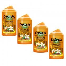 Lot de 4 Huiles de Douche Ushuaia 250 ml Hamamm Huile d'Onagre & Fleur d'Oranger sur 123 Couches