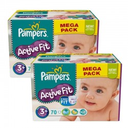 Giga Pack 140 Couches Pampers Active Fit