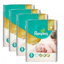 Mega pack 240 Couches Pampers Premium Care - Prima taille 5 sur 123 Couches
