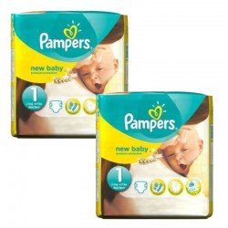 Pack 46 Couches Pampers new baby - premium protection taille 1