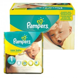 Giga Pack 92 couches Pampers New Baby Premium Protection sur 123 Couches