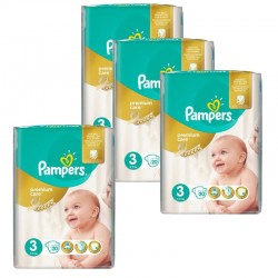 Giga Pack 100 Couches Pampers Premium Care - Prima taille 3
