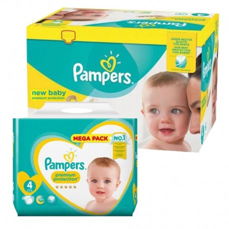 Mega Pack 390 Couches Pampers New Baby Premium Protection sur 123 Couches