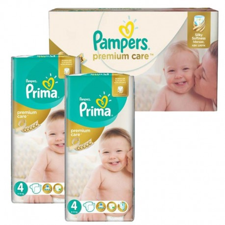Mega Pack 120 Couches Pampers Premium Care - Prima taille 4 sur 123 Couches