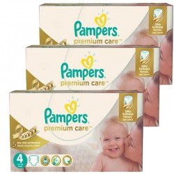 Giga Pack 420 Couches Pampers Premium Care - Prima taille 4