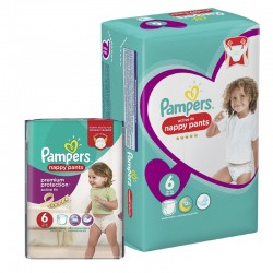 Maxi Pack 112 Couches Pampers Active Fit - Pants taille 6 sur 123 Couches