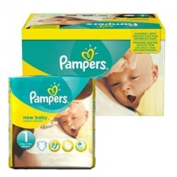 Pack 96 Couches Pampers new baby - premium protection taille 1 sur 123 Couches