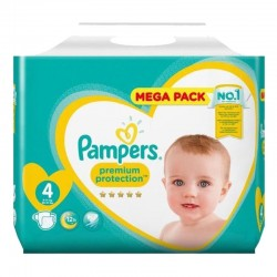 Pack 82 Couches Pampers New Baby Premium Protection taille 4