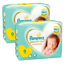 Pack 60 Couches Pampers New Baby Premium Care taille 0 sur 123 Couches
